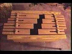 Building and Tuning Tongue Drums, Slit Drums, Xylodrums - Easy Woodworking Music Project - YouTube
