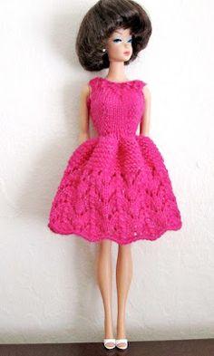 Barbie -  the original. Mom made a full shoebox wardrobe, wedding dress and everything!
