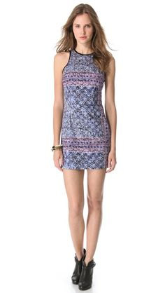 Charles Henry Fitted Tank Dress