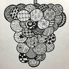 「ゼンタングル」の画像検索結果 Zentangle, Art Projects, Doodles, Shoulder Bag, Drawings, Bags, Food, Handbags, Zentangle Patterns