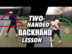 Tennis Lesson: Two Handed Backhand Technique - Drills and Tips - YouTube