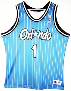Champion NBA Basketball Orlando Magic Anfernee Penny Hardaway Trikot Jersey  Size 36 - Größe S - f4dde4ebf