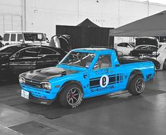Rad Racer — Nissan Skyline GT-R Hakosuka mini truck Tuner Cars, Jdm Cars, 504 Pick Up, Drift Truck, Nissan Trucks, Nissan Gtr Skyline, Datsun 510, Mini Trucks, Japanese Cars