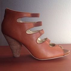 OFFERS WELCOME! Seychelles leather wedge heel Gorgeous tan leather wedge heels. Worn once,   Excellent like new condition. Size 6. Brand is Seychelles Urban Outfitters Shoes Wedges