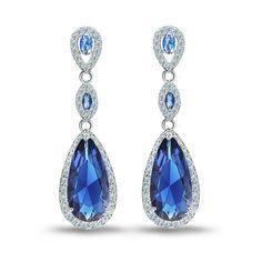 Amazon.com: ZMJ Crystal Statement Earrings Zircon Dangle Earrings Dangle(J-E113): Jewelry