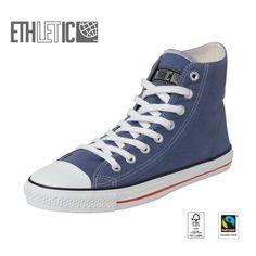 Ethletic verzichtet bewusst bei der Entwicklung und Produktion auf Leder, tierische Öle, Fette, Kleber oder tierisch basierte Farbstoffe.