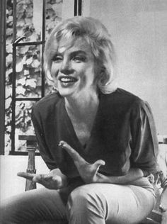 Marilyn Monroe photographed by Allan Grant during her last interview for LIFE magazine, 1962