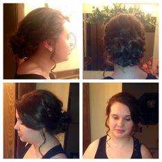 wedding loose updo