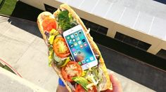 Can Subway Sandwich Protect iPhone 6s from Extreme 100 FT Drop Test?  GizmoSlip #news #alternativenews