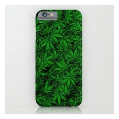 Weed. iPhone & iPod Case ($35) ❤ liked on Polyvore featuring accessories, tech accessories and iphone & ipod cases