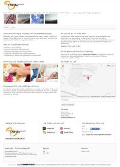 Envita GmbH, Zuzwil, Ernährungsberatung, Wil, Stoffwechselmessung, Kinesiologie, Vitalstoffberatung
