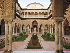 Alcazar de Sevilla Andalusia