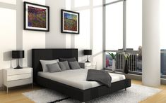 nice bedroom setup you can do for less #BedroomInteriorDesign