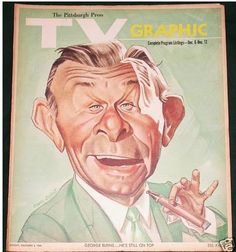 George Burns--played Straight Man to Gracie Allen's Comedic Genius....