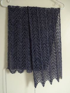 Old Town Scarf by Anna Strowe on Ravelry