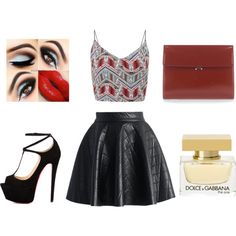 Senza titolo #35 by hopegloverglow on Polyvore featuring moda, Chicwish, Talitha, Marni and Dolce&Gabbana