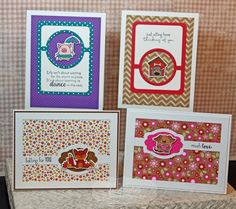 Critter Cards by Jami Sibley