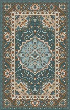 The Meredith Collection! Persian Carpet, Persian Rug, Diy Embroidery, Cross Stitch Embroidery, Big Rugs, Latch Hook Rugs, Patterned Carpet, Rug Hooking, Animal Design