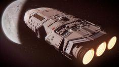 Spaceship, Sci Fi, Game, Artwork, Space Ship, Work Of Art, Spacecraft, Venison, Spaceships