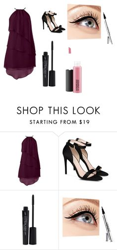 """""""Date Night"""" by chelsb-axa ❤ liked on Polyvore featuring STELLA McCARTNEY, Smashbox, Luminess Air and MAC Cosmetics"""