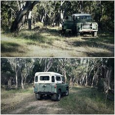 The Land Rover is called Burt