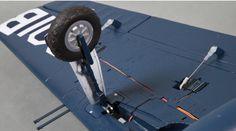 Eleven Hobby F8F Bearcat 1100mm Wingspan Warbird PNP Sale - Banggood.com