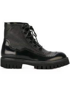 Shop Dsquared2 lace detail boots.