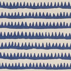 177970 Corfu Stripe Navy by Schumacher Fabric Navy Fabric, Drapery Fabric, Linen Fabric, Moroccan Colors, Luxury Flooring, To Color, Navy Color, Pattern Names, Home Decor Fabric