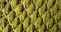 Knit-Purl Combinations: Pattern 6 - Diagonal Stitch 2 - Knitting Unlimited