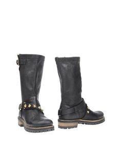 MANILA GRACE DENIM Boots Steel grey Women