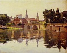 Le Pont de Poissy, 1925, Albert Marquet
