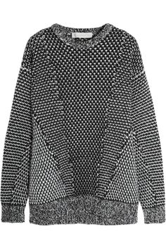 Stella McCartney | Oversized wool and angora-blend sweater | NET-A-PORTER.COM