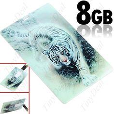 8GB USB 2.0 флеш-память диск в форме кредитной карты CUD-27572