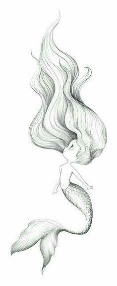 #Sirena #Pequeña #Pelo #Cabello