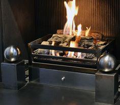 Image result for log effect gas fires