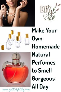 Do you want to smell attractive and unique? Check out this page and learn how to make the homemade perfume Do you want to smell attractive and unique? Check out this page and learn how to make the homemade perfume Homemade Shampoo, Homemade Skin Care, Diy Skin Care, Homemade Beauty, Homemade Conditioner, How To Make Homemade Perfume, Diy Fragrance, Perfume Recipes, Essential Oil Perfume