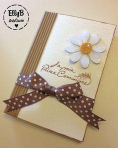 EllyArtecuore: Prima Comunione First Communion, Bookmarks, Baby Room, Cardmaking, Frame, Party, Diy, Big Shot, Wedding