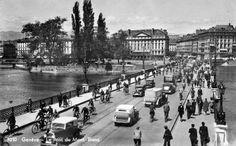Genève, le pont du Mont-Blanc