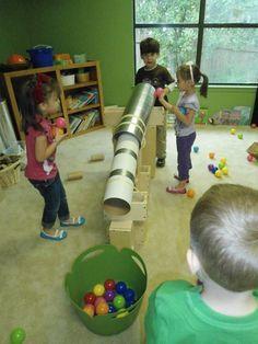 Large tubes & balls