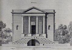 Claude-Nicolas Ledoux, Projet pour l'Hôtel de Saint-Lambert (XVIIIe)