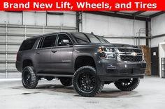 Lifted 2016 Chevrolet Suburban 4x4 LT  $54,488