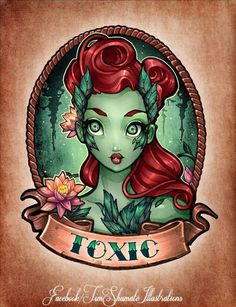 Poison Ivy running costume, make green tutu and green tank, maybe add some leaves here and there.