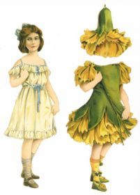 German 1910* 1500 free paper dolls for small Christmas gits and DIY for Pinterest pals The International Paper Doll Society Arielle Gabriel artist ArtrA Linked In QuanYin5 *