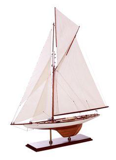 "1899 Exact ship model replica America's Cup ""Columbia"" Exclusive Ship Models"