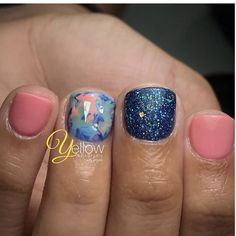 Square Acrylic Nails, Cute Acrylic Nails, Cute Nails, Pretty Nails, Hair And Nails, My Nails, Bella Nails, Short Gel Nails, Nails Design With Rhinestones