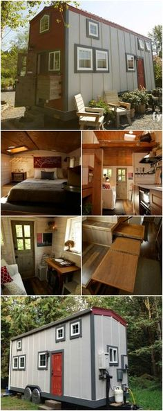 Tiny House Nation Featured Barn-Inspired 300 Sq. Ft. Tiny House For Sale - If you've ever dreamt of living in a barn but really don't want all of that space, we have a tiny house for you! This barn-inspired home was featured on Tiny House Nation and is now up for sale for $60,000. It's 300 square feet and has two bedrooms plus much more!