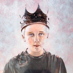 """Saatchi Online Artist Siolo Thompson; , """"King of the Poisoned World"""" #art"""
