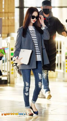 Seohyun airport fashion