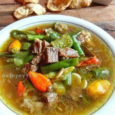 Resep masakan sederhana menu sehari-hari istimewa Seafood Recipes, Beef Recipes, Cooking Recipes, Healthy Recipes, Meatloaf Recipes, Simple Recipes, Mie Goreng, Malaysian Cuisine, Malay Food