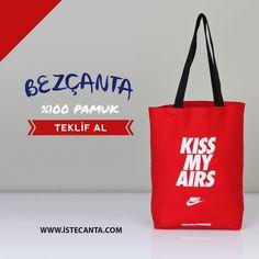 Nike'da tercihini yaptı! Doğal promosyon bez çantalar en uygun fiyatlarla İşte Çanta'da. Bize 0212 643 2100 numaralı telefondan veya destek@istecanta.com mail adresinden ulaşabilirsiniz. Satış temsilcilerimiz size en kısa sürede yanıt verecektir. #bezcanta #dogal #pamuk #promosyon #nike #totebag
